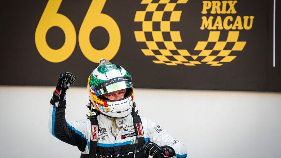 Priaulx wins big in Macau