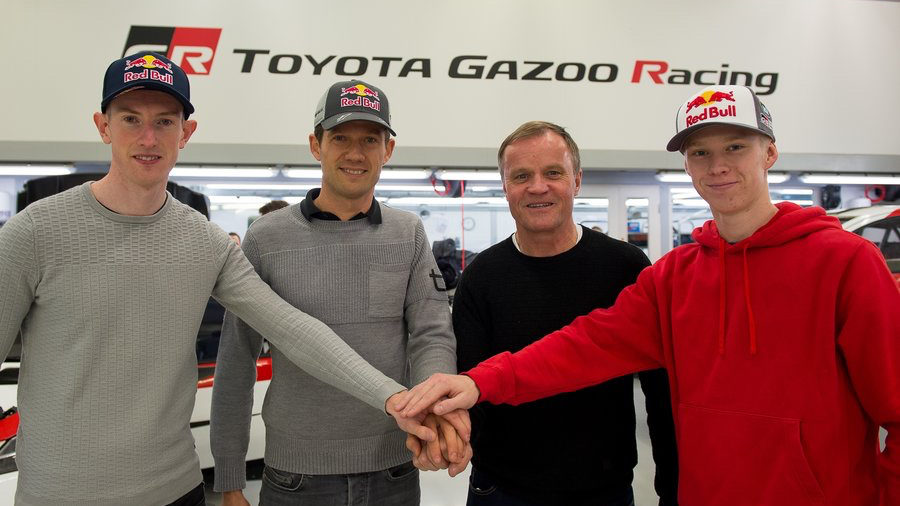 All-new WRC driver line up at Toyota