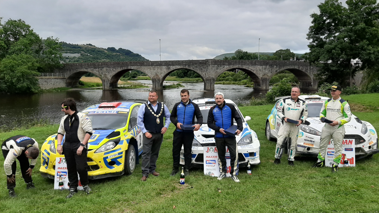 Nicky Grist Stages - BTRDA Rally of the Year 2019