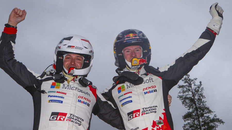 Q&A with Elfyn Evans and Scott Martin
