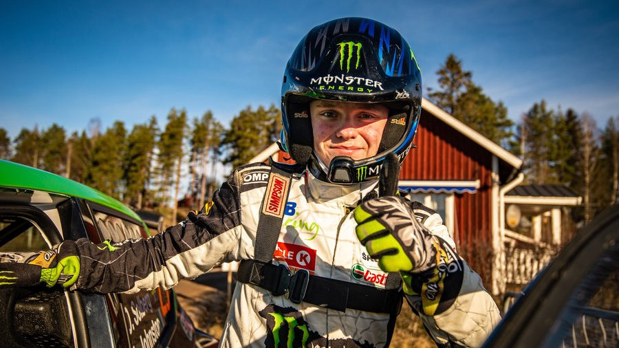 Solberg set for All-Star RallyX Nordic start