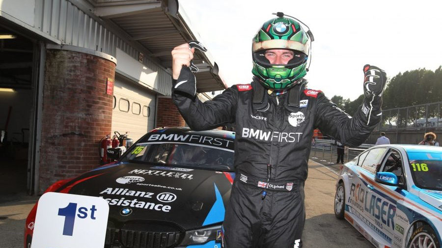 Oliphant can't believe he's a BTCC race winner